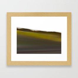 The World Coming Undone II Framed Art Print