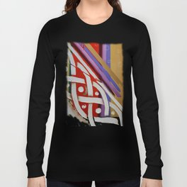 Celtic Knot with Autumn Colors Long Sleeve T-shirt