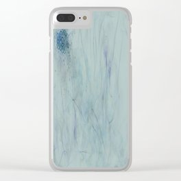 Broken Absence Clear iPhone Case