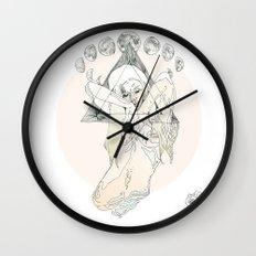 M O O N Wall Clock