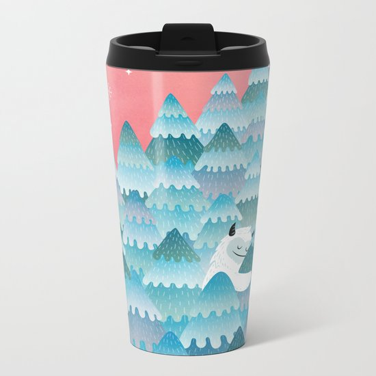 Tree Hugger Metal Travel Mug