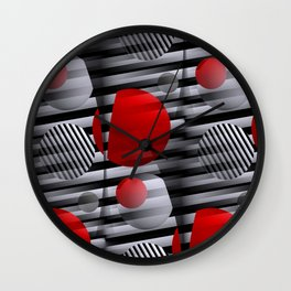 3D - abstraction -38- Wall Clock