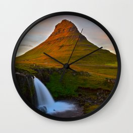 The Mountain & The Falls Wall Clock