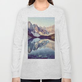 Moraine Lake Reflection Long Sleeve T-shirt