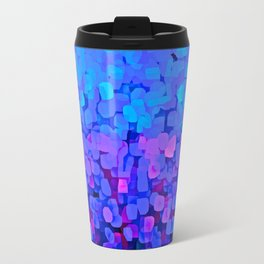 Sparkles Glitter Blue Travel Mug