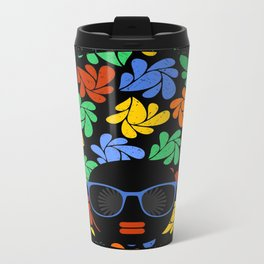 Afro Diva : Colorful Travel Mug