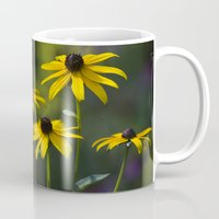 daisies Mugs featuring Daisies by Christina Rollo