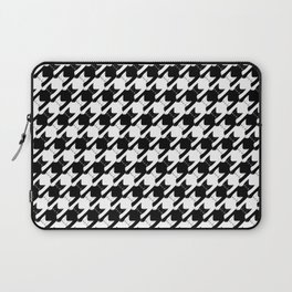 cats-tooth in black and white (houndstooth pattern) Laptop Sleeve