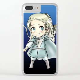 Chibi Beleg and Turin Clear iPhone Case