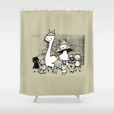 minima - coup Shower Curtain