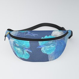 New Chick On The Block In Blue Fanny Pack