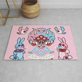 Eye Am Kawaii Krampus Rug