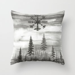 Veldismagn Throw Pillow