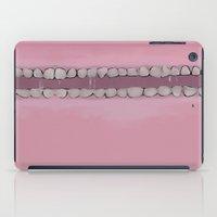 teeth iPad Cases featuring Teeth by Conrad