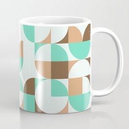 Mint and Chocolate Fresh Pattern Coffee Mug