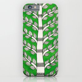 Madhubani Tree of Life iPhone Case