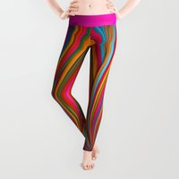 positive Leggings featuring Believer by Danny Ivan