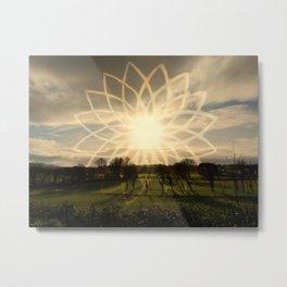 """""""Lotus Field"""" Metal Print"""