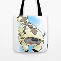 appa Tote Bags featuring Appa by Kurew Kreations