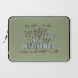 #Charlie Bradbury - Supernatural Laptop Sleeve