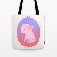 Puerquito Tote Bag
