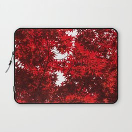 RED China Laptop Sleeve