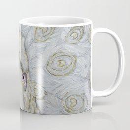 White Peacock Coffee Mug