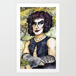 Mona Frankenfurter Art Print