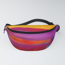 Arizona Sunset in a Pop Art abstract style Fanny Pack