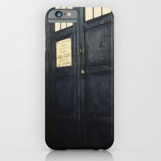 Doctor Who: Time and Relative Dimension in Space iPhone 6 Slim Case