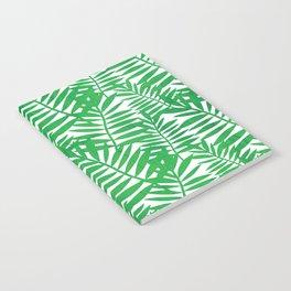 Tropical Leaf Print Notebook