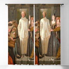"Antoine Watteau ""The Italian Comedians"" (I) Blackout Curtain"