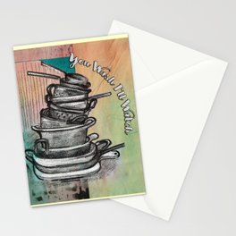 Kitchen and Life 1 Stationery Cards