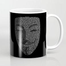...You May Call Me 'V' – So who's Anonymous? Coffee Mug