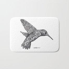 Clockwork Hummingbird Bath Mat