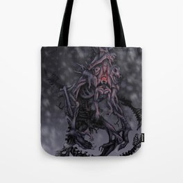 Howl of the Wendigo Tote Bag