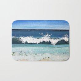 Beach Crash Bath Mat