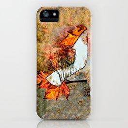 Fall in Art iPhone Case