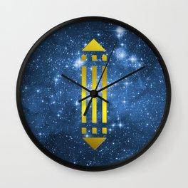 Atlantis Power Symbol Wall Clock
