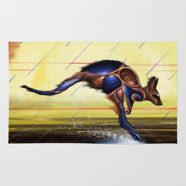 Kangaroo Dreaming Rug