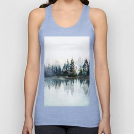 Winter Morning Unisex Tank Top