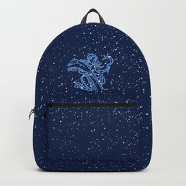 Virgo Constellation and Zodiac Sign with Stars Backpack