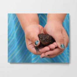 The Princess & the Toad Metal Print
