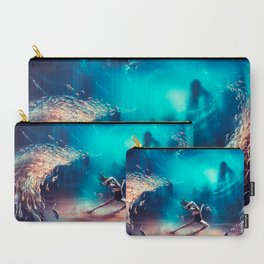 Dancing Zodiac Pisces Carry-All Pouch