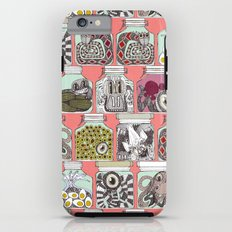 weird pickles coral Tough Case iPhone 6
