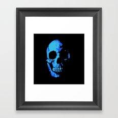 Fade into Darkness Framed Art Print