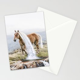 Waterfall Horse Stationery Cards