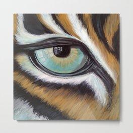 Tiger in my Bedroom Metal Print