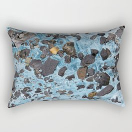 Glacial Gold :: Alaskan Ice Rectangular Pillow