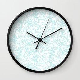 BLUE HUFF Wall Clock